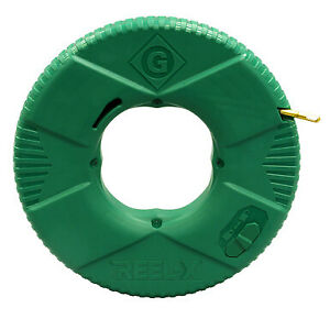 Greenlee Ftxf 100 Reel x 100 Non conductive Fish Tape