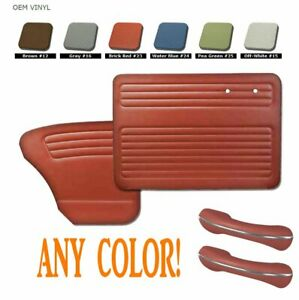 1956 64 Volkswagen Vw Bug Door Quarter Panel Set With Arm Rests Any Color