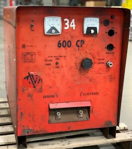 Machinery Welder Manufacturing Corp 600 Amp Cp Welding Power Source