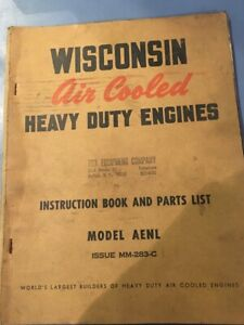 Wisconsin Manuals Lot Of 9