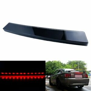 For Ford Mustang 1999 04 Third 3rd Led High Brake Stop Light Black Smoked Lens
