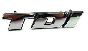 Original Vw Bus T4 Tdi Sign Emblem Logo Script Chrome I 701853679a neuf