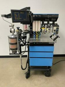 Drager Narkomed 2c Anesthesia System With Sevo Iso And Des Vaporizer tested