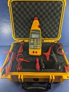 Fluke 772 Milliamp Process Clamp Meter Screen Protector Hard Case Excellent