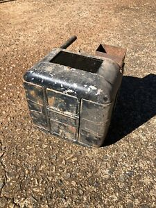 B b Deluxe Vintage Auxillary Car Heater Hotrod Antique Vtg Model A 40 Ford Chevy