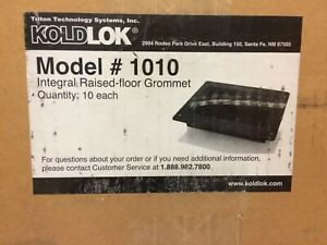Koldlok 1010 Integral Raised Floor Grommet