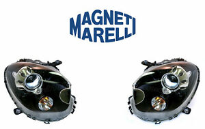 New Bmw Set Of Left And Right Xenon Headlights Marelli Lus6502 Lus6501
