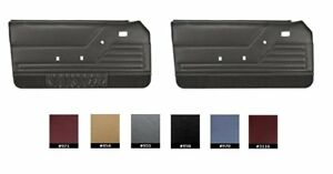 1983 84 Fox Body Mustang Coupe Door Panel Set Any Color Made By Tmi Made In Usa