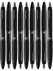 Uni ball Signo 307 Medium Point Retractable Rollerball Pens Black 9 Count