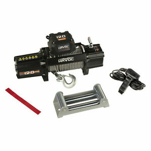Havoc Hpg 72 09500 Jeep Truck Offroad Vehicles Utvs 9 500 Lb Recovery Winch