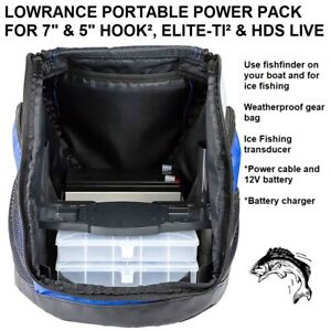 LOWRANCE PORTABLE POWER PACK FOR 7