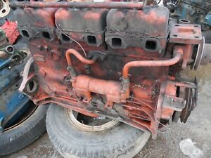 Case 1370 Diesel Farm Tractor Engine ran Good At Removal