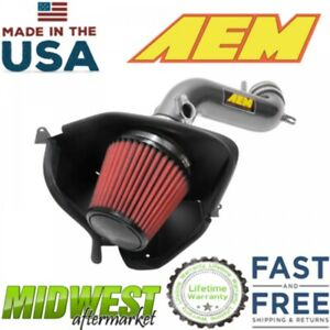 Aem Performance Cold Air Intake System Fits 2018 Toyota Camry 3 5l V6