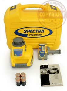 Spectra Precision Ll300 Self Leveling Rotary Laser Level transit topcon dewalt