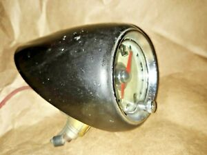 Vintage Geo W Borg Corp Dash Car Clock Gm 1950 s Gift Ford Chevy Mopar Lighted