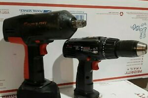 Snap on 1 2 Cordless 18v Impact Wrench Ct3850 Drill Driver Tools Only