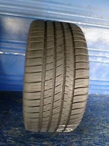 1 Michelin Pilot Super Sport A S 3 255 35 Zr19 With 7 75 32nd Tread Left 96 Y