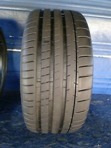 1 Michelin Pilot Super Sport 255 35 Zr19 Bmw With 9 32nd Tread Left 96 Y