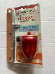 Weapon R Dragon Breather Filter Red New