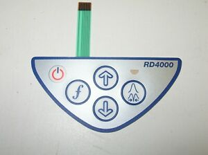 New Radiodetection Rd4000 Pl Dl Tl Receiver Display Key Pad Cable Locator