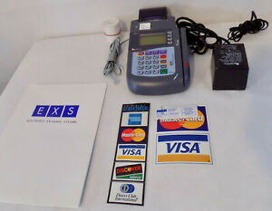 Verifone Omni 3200 P092 101 03 Credit Card Terminal Machine With Power Supply