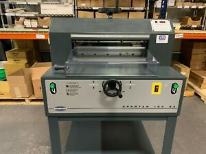 Challenge Spartan 185sa 18 5 Paper Cutter 2012 Fully serviced