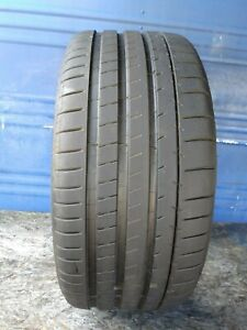 1 Michelin Pilot Super Sport 255 40 Zr20 Porsche With 9 25 32nd Tread Left 101 Y