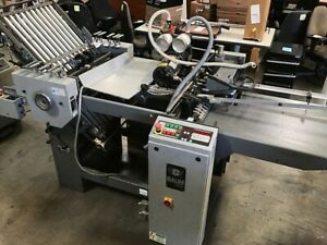 Baum 2020 Folder With Ra Right Angle Pile Feed