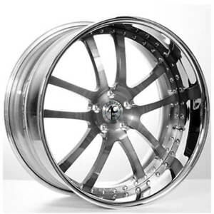4 22 Staggered Ac Forged Wheels Rims 312 Gm 3 Pcs B1