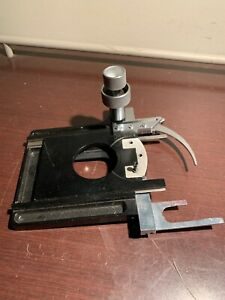 Leitz Wetzlar Germany Microscope Stage