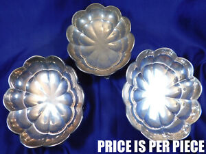 Wallace Footed Sterling Silver Candy Trinket Dish A7 Very Good Condition T