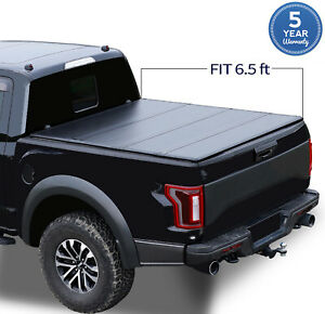 6 5 Ft 78 8 78 9 For 2015 2020 F150 Soft Roll Up Pickup Truck Bed Cover