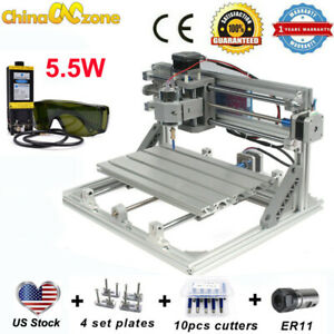 Cnc 3018 3axis Engraving Machine 5 5w Laser For Pcb Wood Carving Milling Router