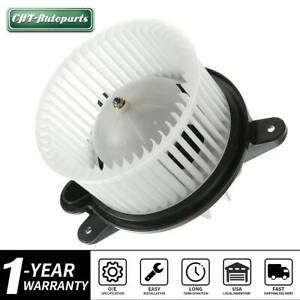 Blower Heater Motor W Wheel For Jeep Cherokee Wrangler 1997 1998 1999 2000 2001