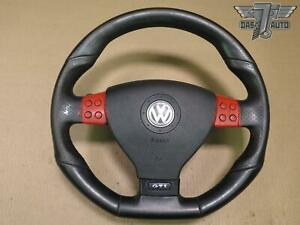 06 09 Vw Golf Gti Mk5 Multifunction Steering Wheel W Srs Shift Paddles Oem