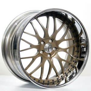 4 19 Staggered Ac Forged Wheels Rims 313 Gold 3 Pcs B31
