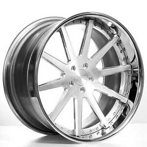 4 22 Staggered Ac Forged Wheels Rims Acr410 3 Pcs B31