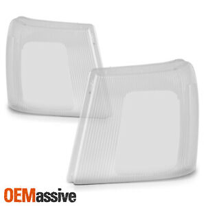 For 2003 2006 Cadillac Escalade Esv Ext hid Model Headlight Clear Lens Pair