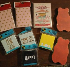 Set Of 9 Small Notepads