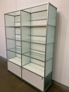 Italian made Glass Display Case
