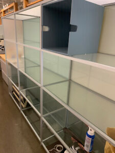 Italian made Glass Display Cases