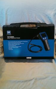Last Chance New Tif Instruments 3880 Hvac Video Inspection Camera Borescope Spx