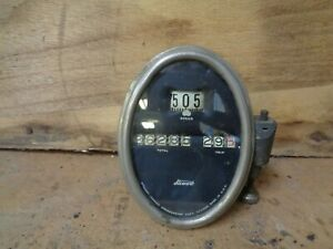 1927 Willy S Knight Dash Guage Speedometer Stewart Warner Model 70 A