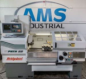2002 Bridgeport Romi Ez Path Sd Cnc Lathe Haas Prototrak Harrison Clausing