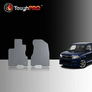 Toughpro Front Mats Gray For Honda Element Sc All Weather Custom Fit 2007 2010