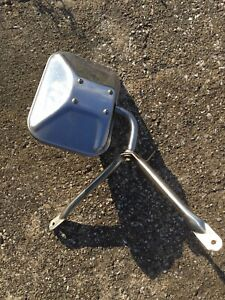 1970s 80s Chevy Gmc Truck Stainless Steel West Coast Tow Towing Mirror Oem