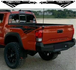 Toyota Tacoma Trd Pro 2013 2020 Side Bed Vinyl Decals Graphics Rally Stickers