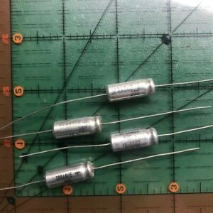 Sprague Axial Electrolytic Capacitor 100uf 6v Te1102 105 c Audio 50pcs
