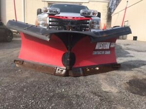 86 Western Contractor Grade V Plow In Good Condition Purchased In 2014