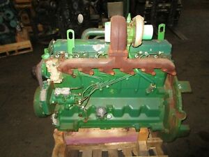 Government Surplus John Deere 6068 6068t Diesel Engine